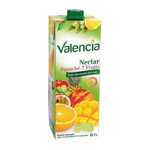 Valencia 7 fruits