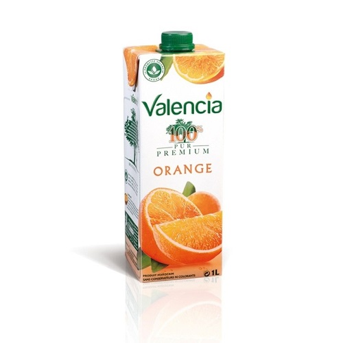 Valencia Orange 100%