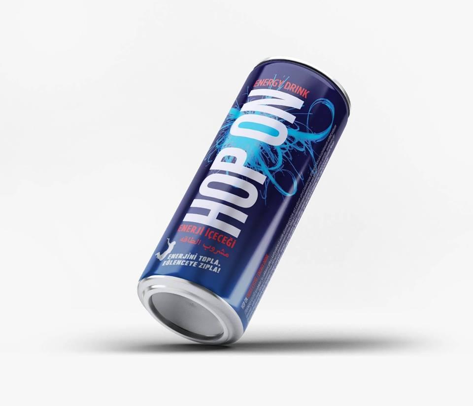 Energy Drinks HOP ON