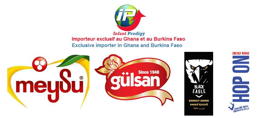 Importeur exclusif de Meysu,  Gulsan, Hop On et Black Eagle