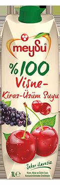 Meysu 100% Jus de cerise et raisin