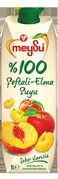 Meysu 100% Jus Pêche et pomme