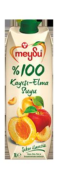 Meysu 100% Jus de pomme et d'abricot